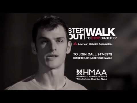 Step Out: Walk to Stop Diabetes 2012 - American Diabetes Association of Hawaii PSA