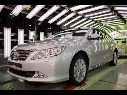 Toyota Camry 50 сборка на заводе