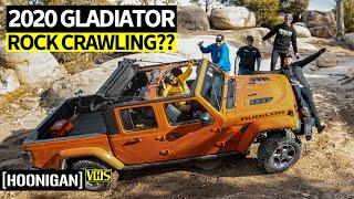 homepage tile video photo for Drift Dudes Go Off-Roading: Can You Rock Crawl in a Bone Stock 2020 Jeep Gladiator?