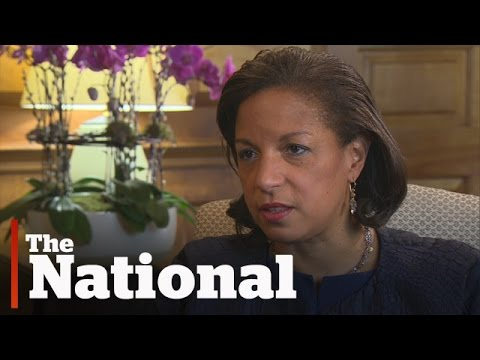 Susan Rice | U.S.-Canada Trade vs. Security and Terrorism