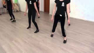Студия Актер  Окрытый урок  Экзамен по танцу  Педагог  Делятицкая  Г А  8