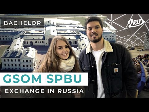STUDY at GSOM bachelor Saint-Petersburg | MUST-KNOWS for an exchange student in Russia | 2RU