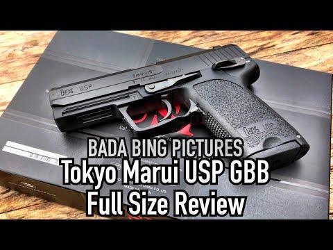 Tokyo Marui USP GBB Full Size Review
