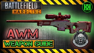 awm review gameplay best gun setup   battlefield hardline weapon guide bfh