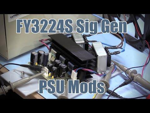 SDGEE #032 Linear Power Supply Design - FY3224S Sig Gen