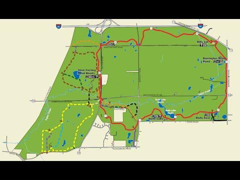 GoPro Cycling - Poplar Creek Bike Trail - Full Loop Clockwise - Hoffman Estates, Illinois