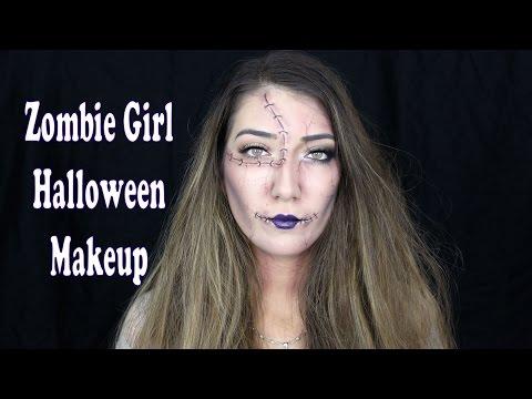 Zombie Girl Halloween Makeup Tutorial | Makeup Forever Inspiration