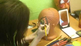Мастер класс по аквагриму от artsova.ru