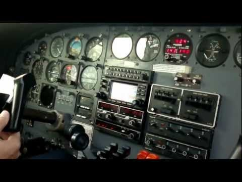 Cessna 402C take-off Beef Island Tortola BVI