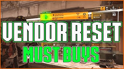The Division 2 | Weekly Vendor Reset | Must Buy Gloves ! | 12 May 2020