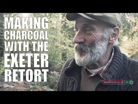 Making Charcoal with the Exeter Retort
