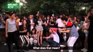 (sister)hyorin got ditch by her fan for dasom