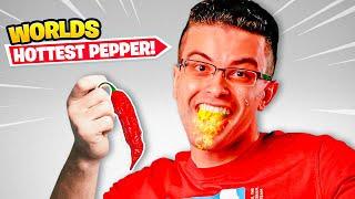 World's Hottest Pepper Challenge!