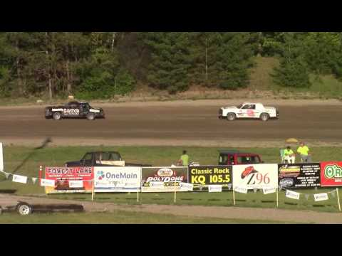 May 26, 2016 Grand Rapids Speedway Pure Stocks Heat #1