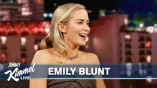 Emily Blunt on Husband John Krasinski, A Quiet Place Part II & Almost Becoming a Pop Star