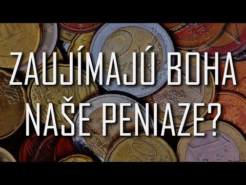 Viera do vrecka - Zaujímajú Boha naše peniaze?