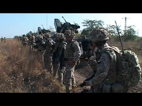 NATO Exercise Danube Express 14: UK, USA, Romania
