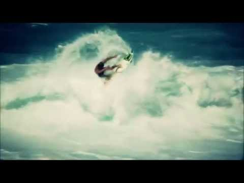 Rest actively. Surfing in a storm