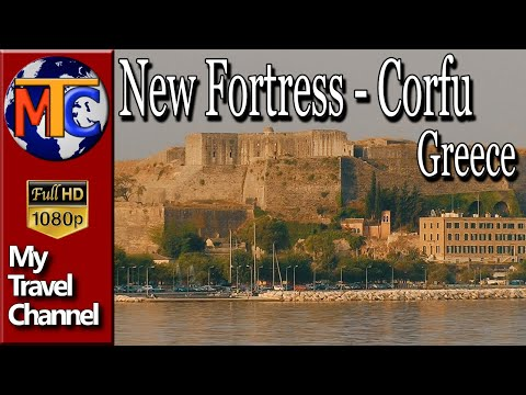 The New Fortress of  Corfu - Kerkyra