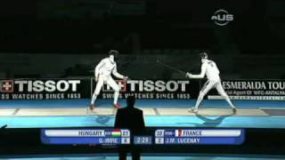 French men remain Fencing Champions - from Universal Sports