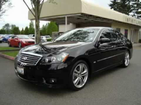 used 2008 infiniti m45 kirkland wa youtube. Black Bedroom Furniture Sets. Home Design Ideas