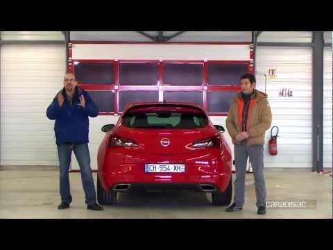 Opel Astra OPC essay par Soheil Ayari
