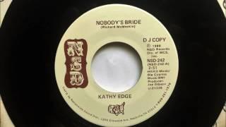 Nobody's Bride , Kathy Edge  ,1988