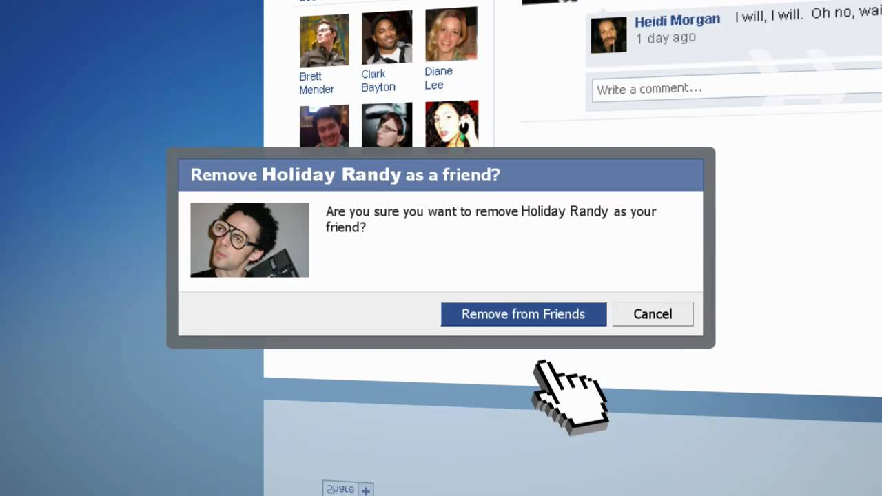 How To Remove Friends From Facebook