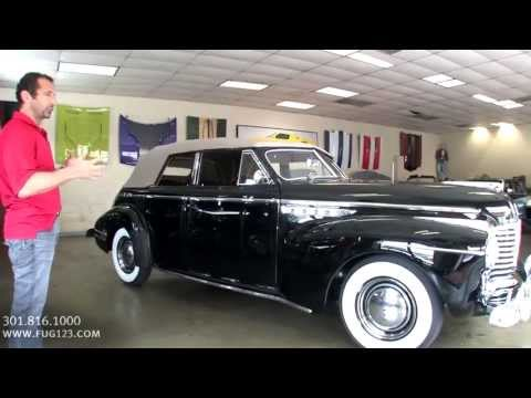 1941 Buick Super 50 Phaeton 4 door Convertible for sale with test drive, walk through video