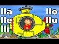 Sílabas lla lle lli llo llu el mono sílabo videos infantiles educación para niños mp3