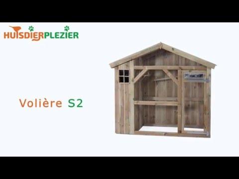 Huisdierplezier.nl | Volière S2 | Volière bouwen