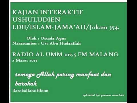 Dialog Interaktif LDII di Radio Al Umm 102 5 fm Malang