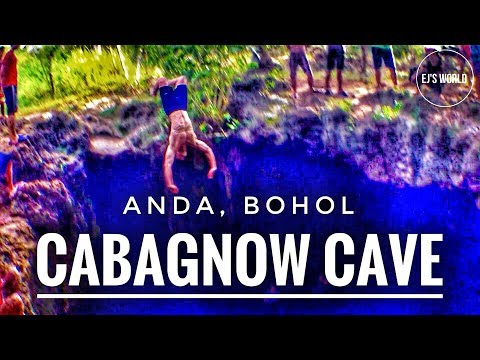 VLog 73: Cabagnow Cave Pool, Anda Bohol Philippines