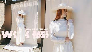 PATTERN CUT & SEW A DRESS WITH ME! | MsRosieBea