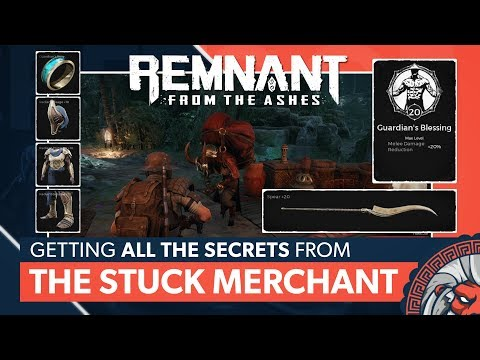 All Secrets The Stuck Merchant (Radiant Armor) | Remnant: From the Ashes