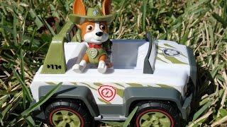 Paw Patrol NEW Puppy, Tracker! Новый щенок. Встречаем Трекера, щенячий патруль. Все серии подряд