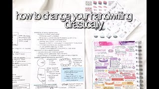 How To Change Your Handwriting | Drastically || revisign