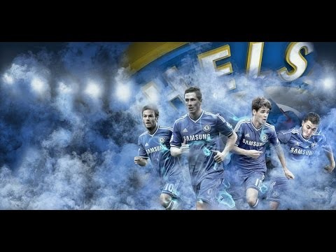 Chelsea Fc Welcomes 2014/2015: Fabregas, Drogba, Costa, Luis and Courtois