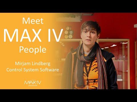Mirjam Lindberg - Control System Software At MAX IV Laboratory