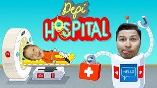 СМЕШНАЯ ИГРА ДЛЯ ДЕТЕЙ про самую большую больницу Pepi Hospital МУЛЬТ СИМУЛЯТОР БОЛЬНИЦЫ
