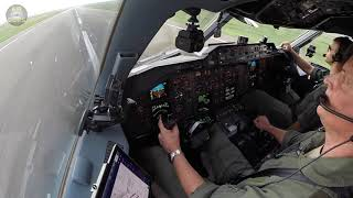 Commander's View: Airbus A310 landed using CLASSIC YOKE!!! [AirClips]