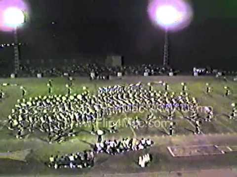Acadiana High School Marching Band Westside Story 1984