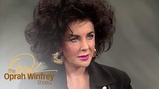 Elizabeth Taylor's Near-Death Experience | The Oprah Winfrey Show | Oprah Winfrey Network