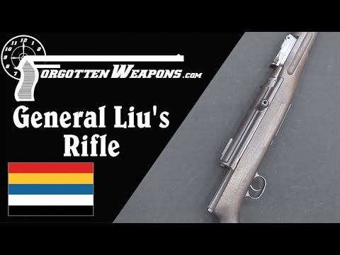 General Liu's Chinese Semiauto Rifle from WWI