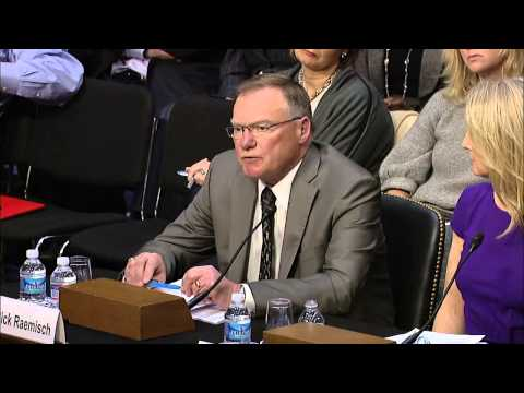 Testimony of Rick Raemisch, Executive Director, Colorado Department of Corrections