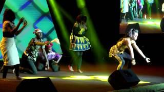Kaffy  Imagneto Dance performing at Aso-Rock Presidential Villa - The Conversation 2016