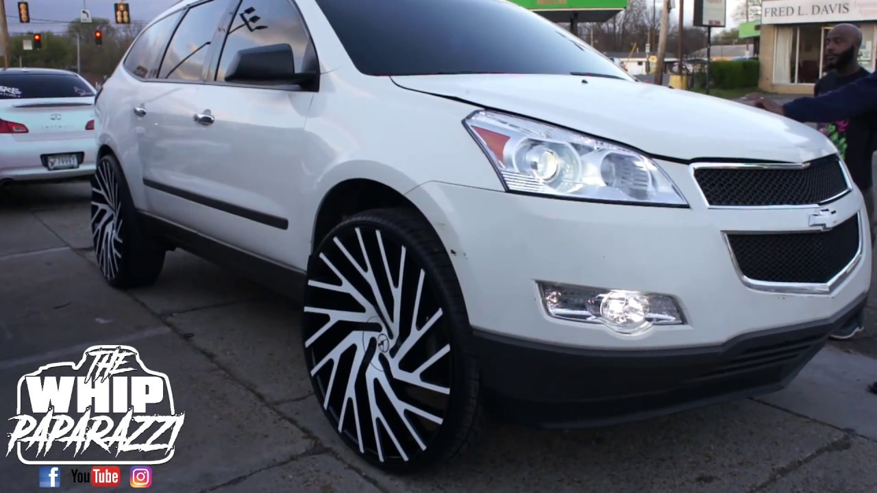 Chevrolet Traverse On 28 Quot Azara Aza 505 Wheels Youtube