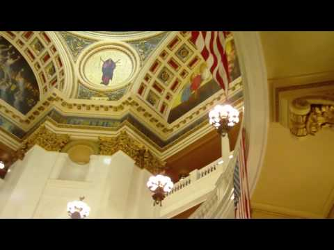 inside the Pennsylvania Statehouse