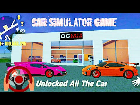 car-simulator-2-by-oppana-game-|-unlocked-all-the-car---android-gameplay