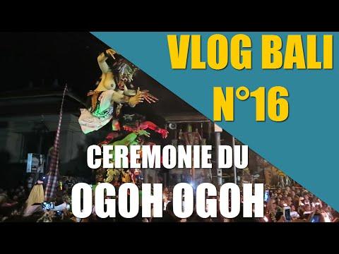 VLOG BALI 16: Cérémonie Ogoh Ogoh Nouvel An Balinais!